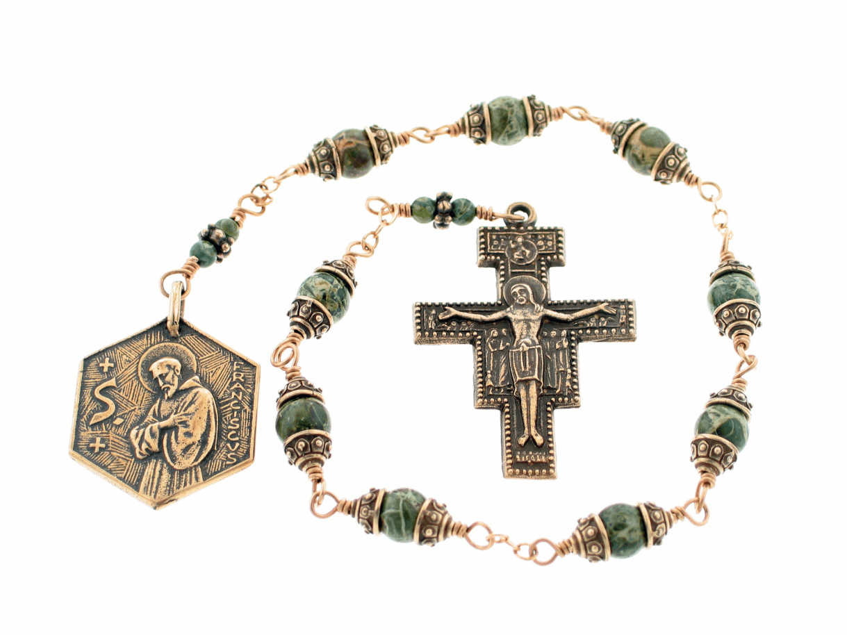 How to Pray the Nine Bead Chaplet of St Francis of Assisi