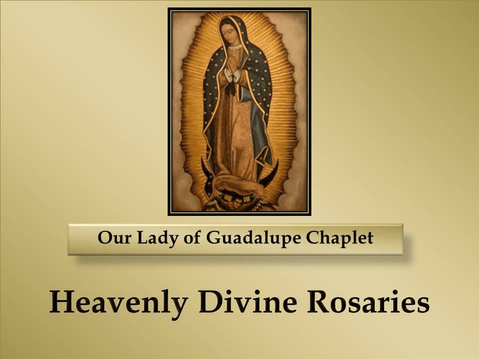 How to Pray the Our Lady of Guadalupe Chaplet Prayer