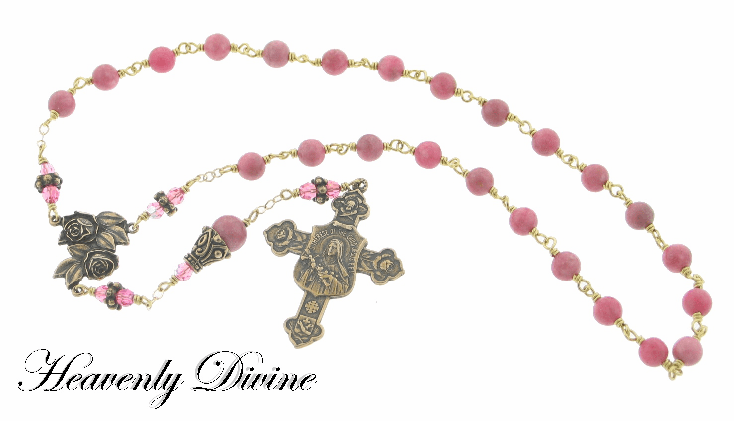 How to pray the St Therese Little Flower Rosary Chaplet