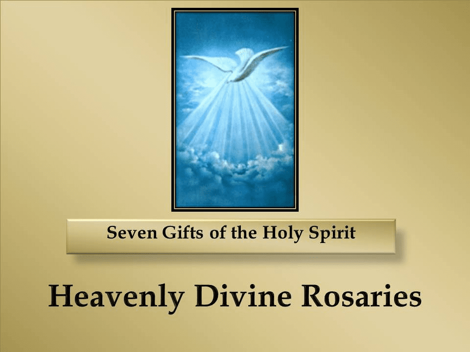 How to Pray for the Seven Gifts of the Holy Spirit