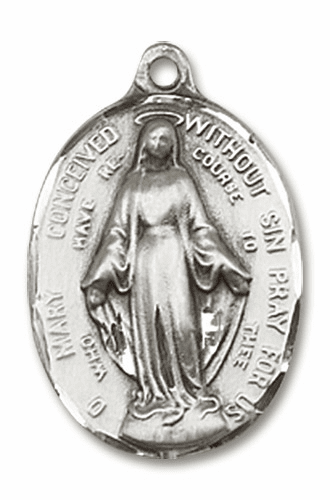 Immaculate Conception Medals and Jewelry