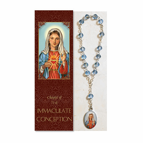 Immaculate Conception Catholic Prayer Chaplet Sets 3ct by Milagros