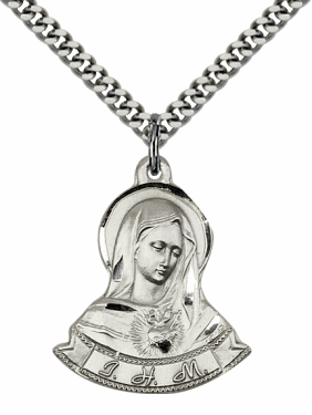 Immaculate Heart of Mary Medal Jewelry