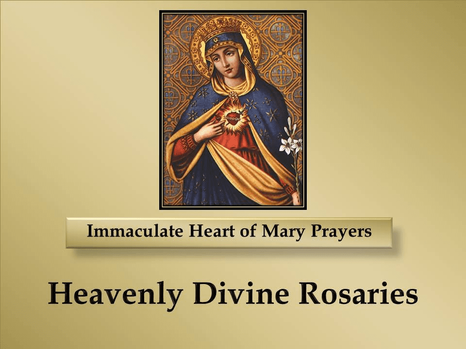 Immaculate Heart of Mary Prayers