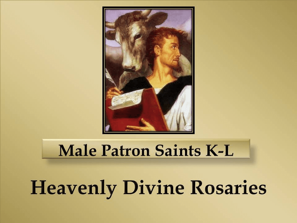 Index Male Patron Saints K-L