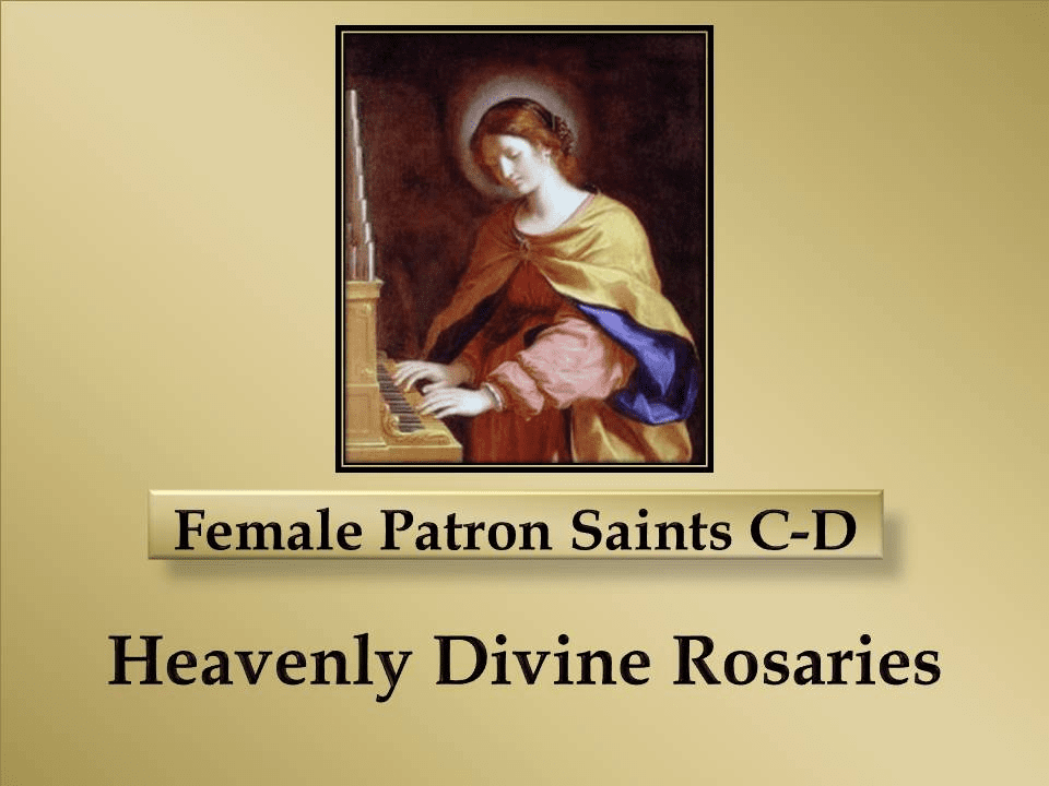 Index of Female Patron Saints C-D