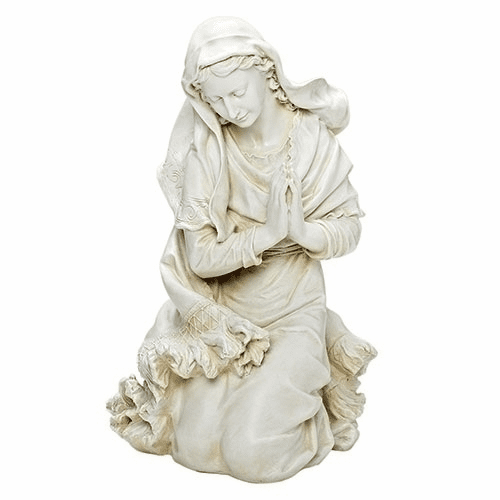 Ivory Mary 38 inch Scale Outdoor Christmas Nativity Set Figure by Joseph Studio