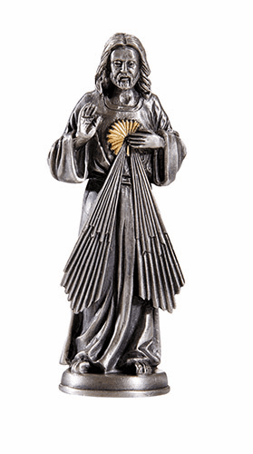 James Brennan Pewter Patron Saint Statues