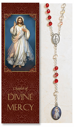 Jesus Divine Mercy Catholic Prayer Chaplet Sets 3ct by Milagros