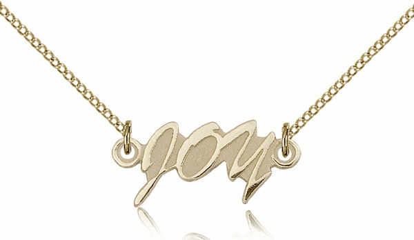 Jesus First, Other Second & Yourself Last 14kt Gold-Filled Medal Necklace by Bliss