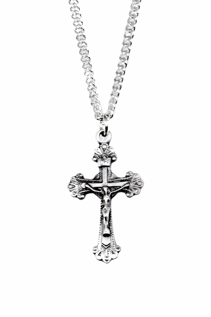Jeweled Cross Crucifix and Cross Jewelry