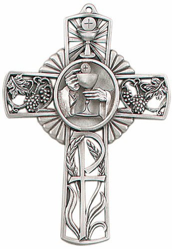 Jeweled Cross First Holy Communion Wall Cross