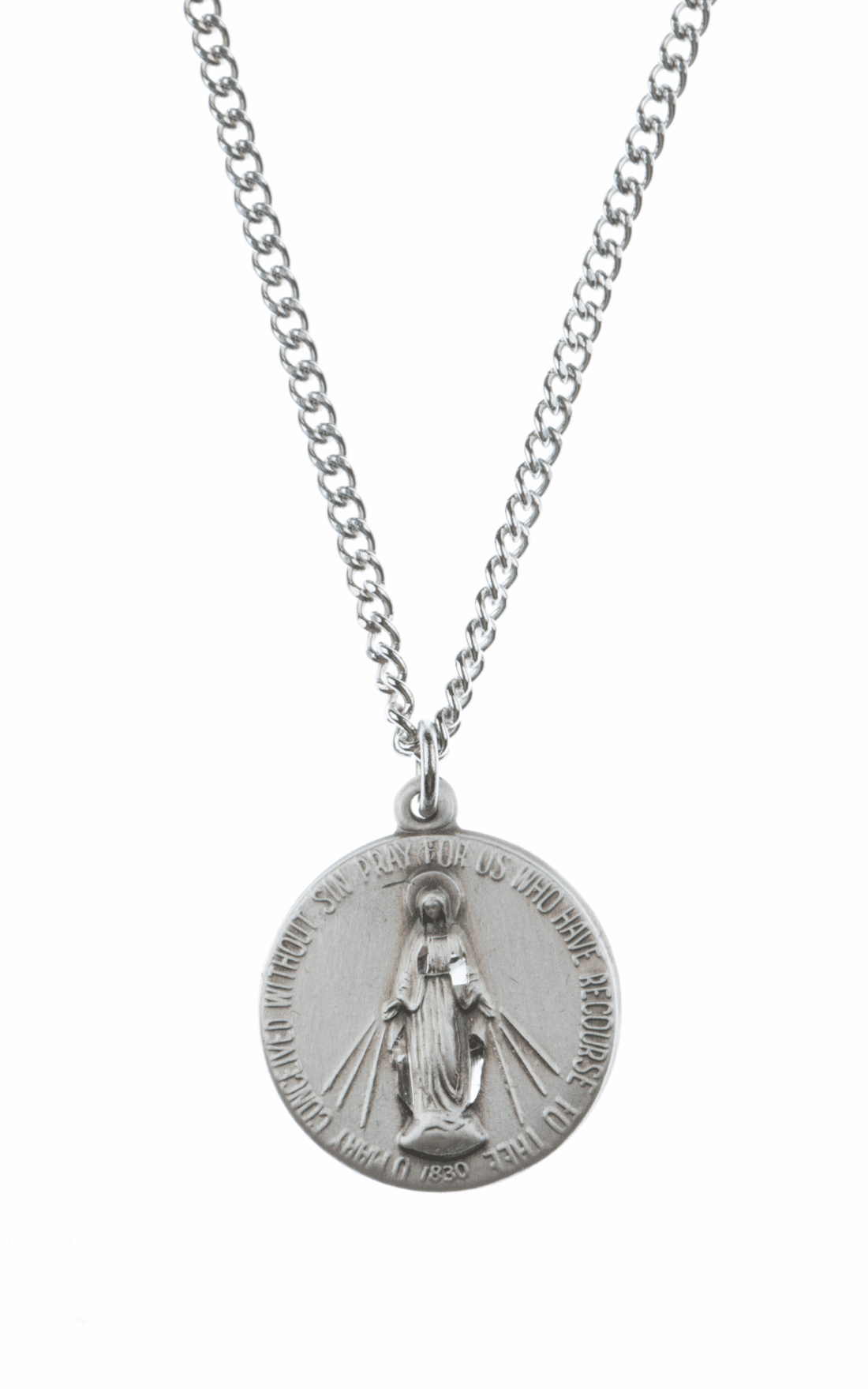Jeweled Cross Miraculous Medals & Jewelry