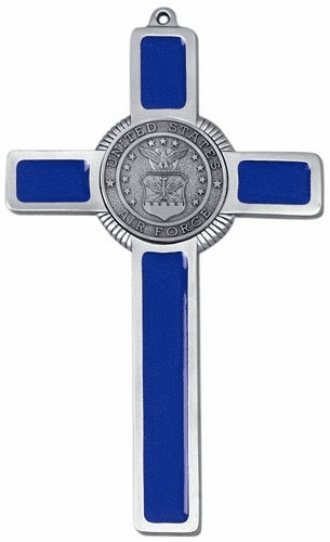 Jeweled Cross Religious US Air Force Military Cross