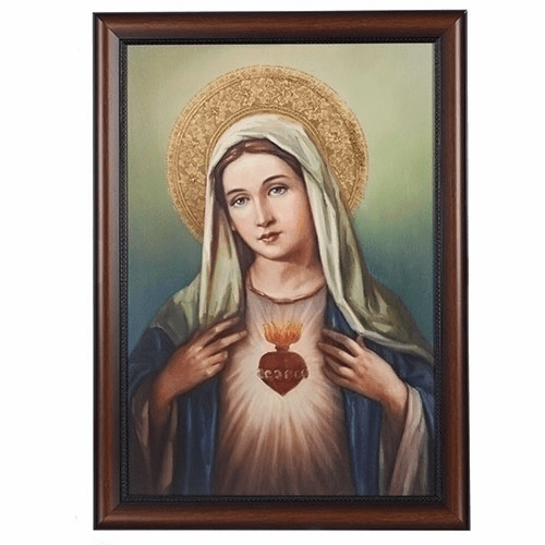 Joseph Studio Immaculate Heart of Mary Wall Picture by Roman Inc