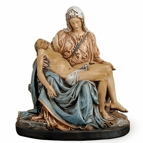 Joseph Studio Jesus and Mary Pieta Figure Statue by Roman