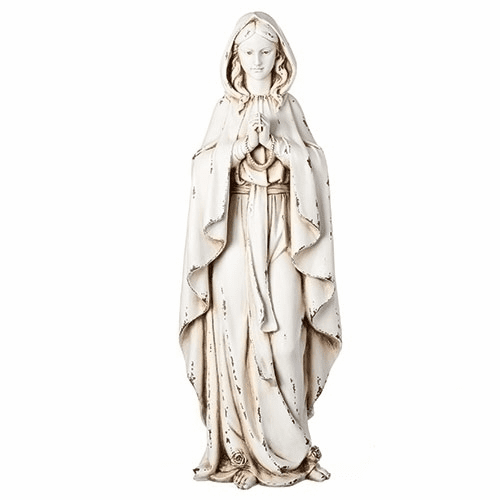 Joseph Studio Our Lady of Lourdes Outdoor Garden Statue by Roman Inc