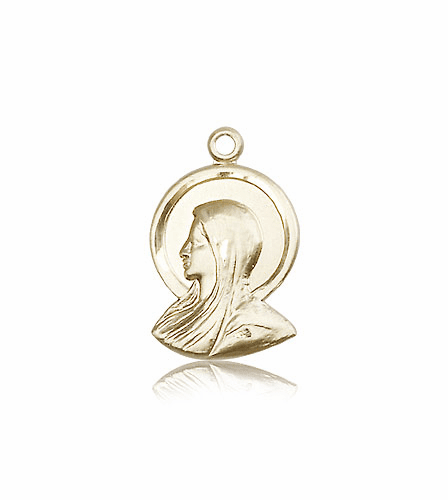 Madonna 14kt Gold Pendant Necklace by Bliss