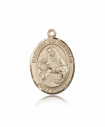 Madonna Del Ghisallo 14kt Gold Patron Medals