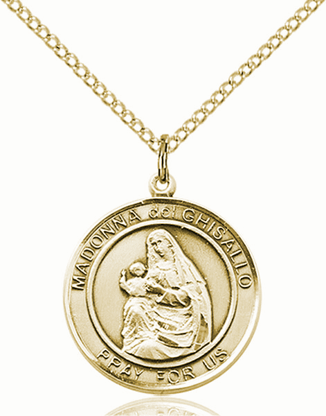 Madonna del Ghisallo Medium Patron Saint 14kt Gold-filled Medal by Bliss