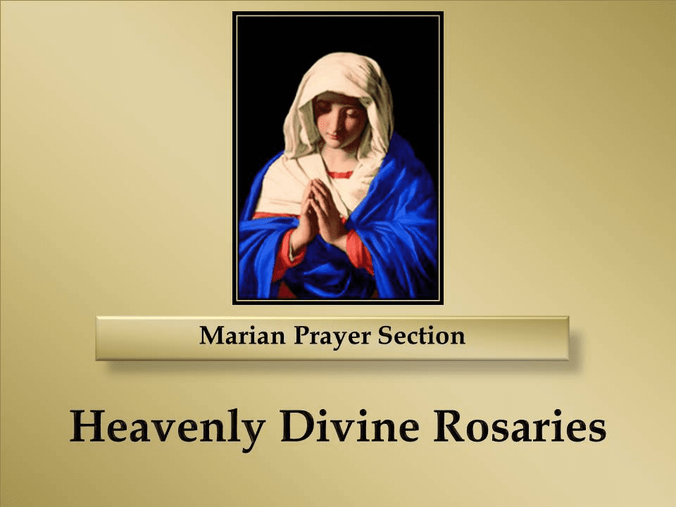 Marian Prayer Section