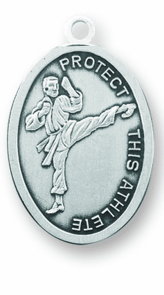Martial Arts St Christopher Sports Necklace