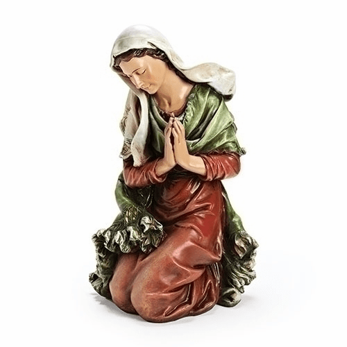 "Mary 39"" Scale Colored Outdoor Christmas Nativity Figure by Joseph Studio"
