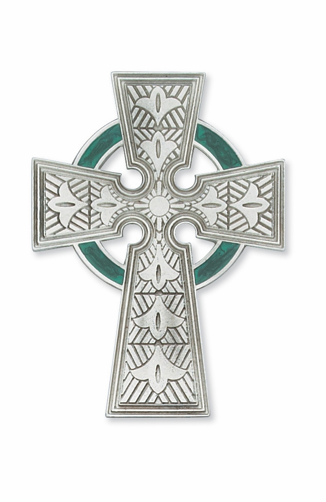 McVan Pewter Wall and Standing Crosses