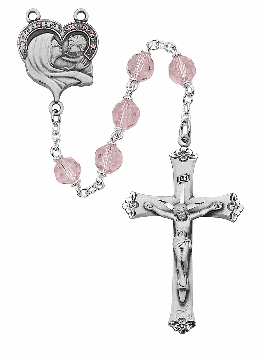 McVan Sterling Crucifix and Center Rosaries