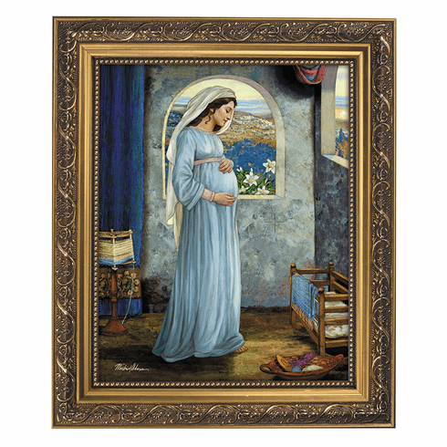 Michael Adams Mary, Mother of God Framed Print Picture by Gerffert