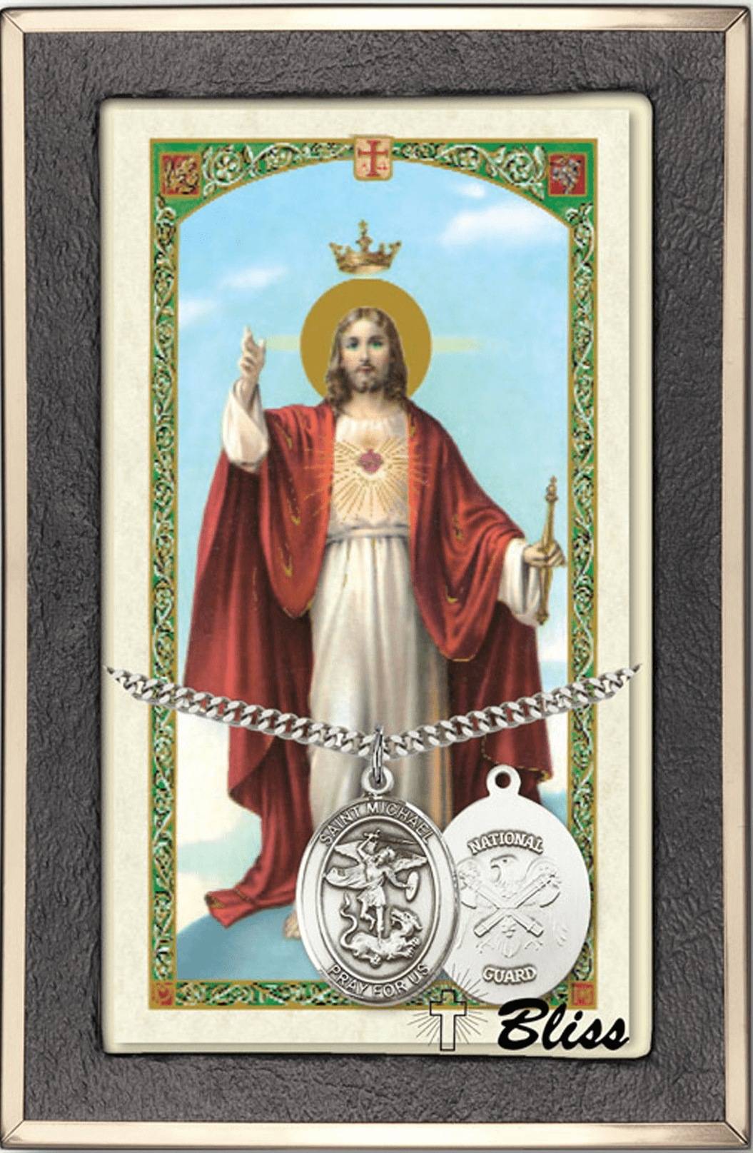 Military Service Holy Prayer Cards and Gifts Sets