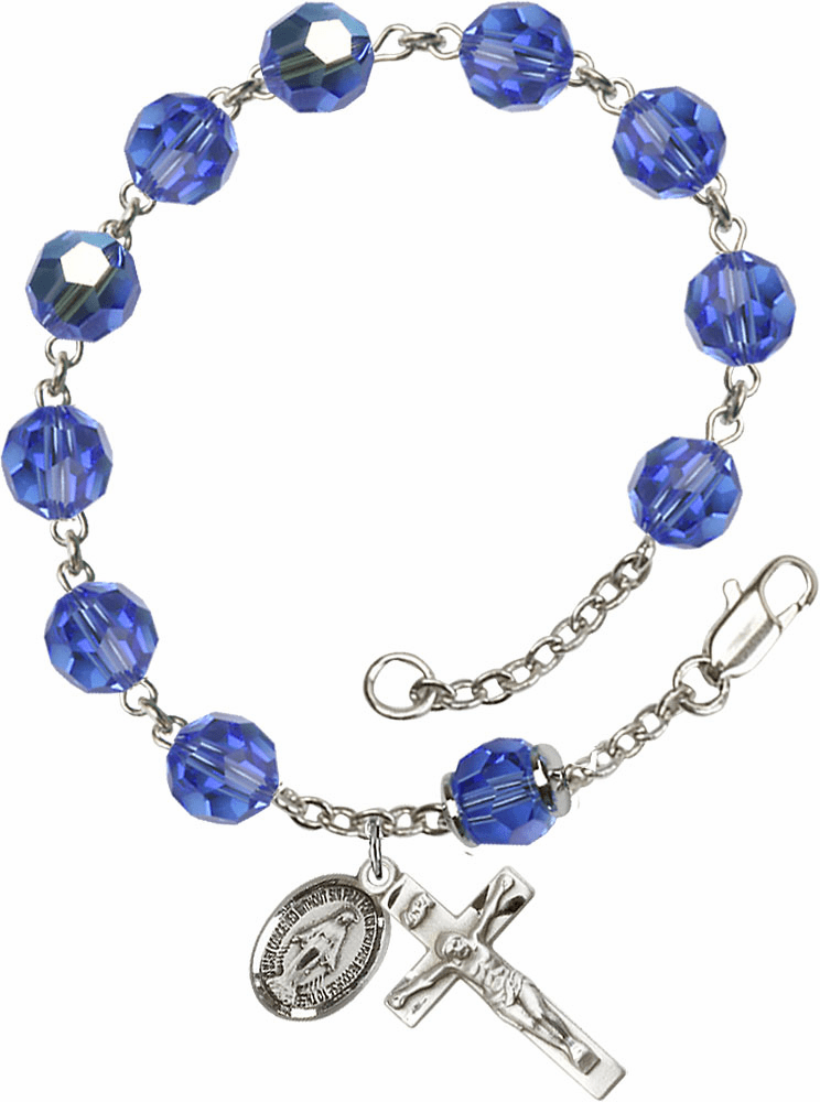 Miraculous Medal Rosary Bracelets