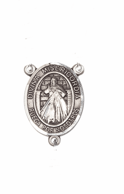 Misericordia/Divine Mercy Spanish Patron Saint Rosary Center Part