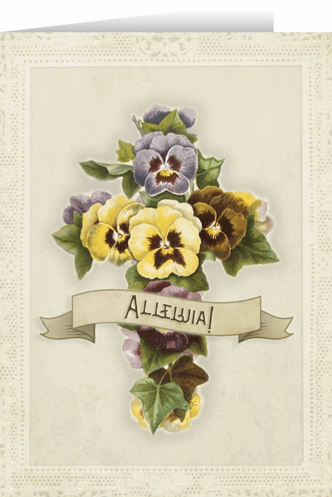 Nelson Alleluia Easter Season Greeting Card