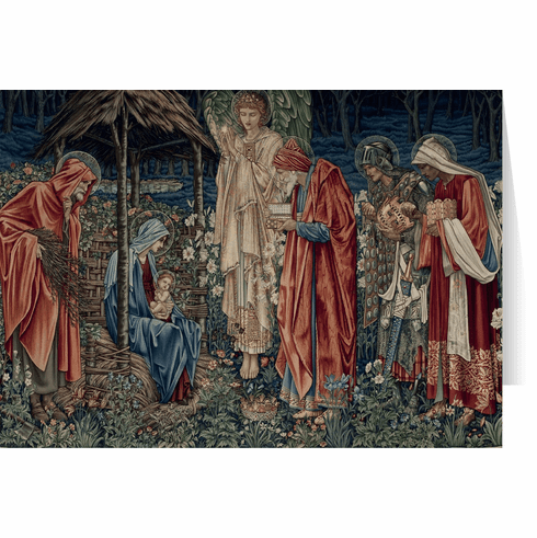 Nelson's Adoration of the Magi by Burne-Jones Christmas Cards