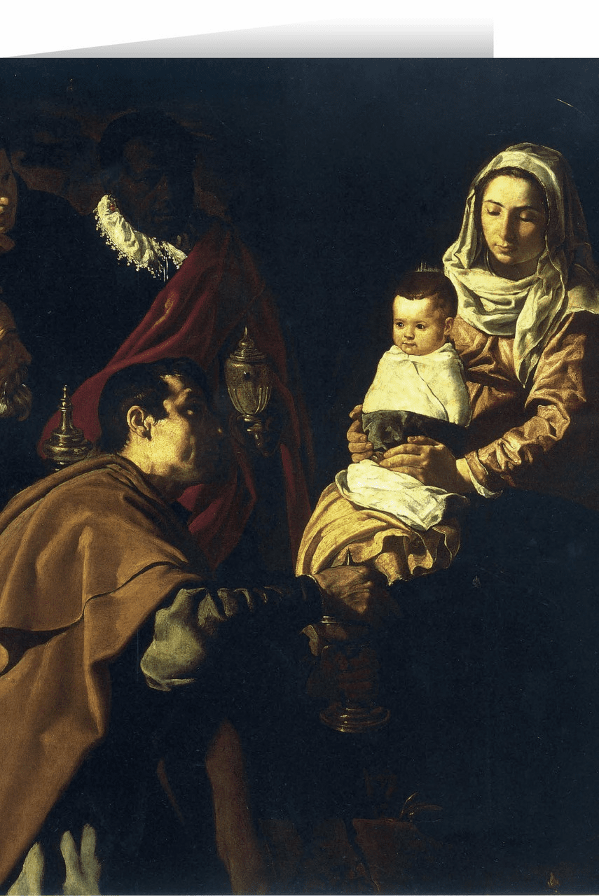 Nelson's Adoration of the Magi by Velasquez Christmas Cards