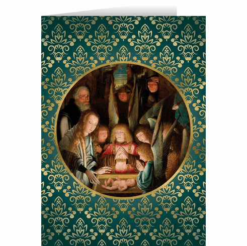 Nelson's Adoration of the Shepherds Special Needs Christmas Cards