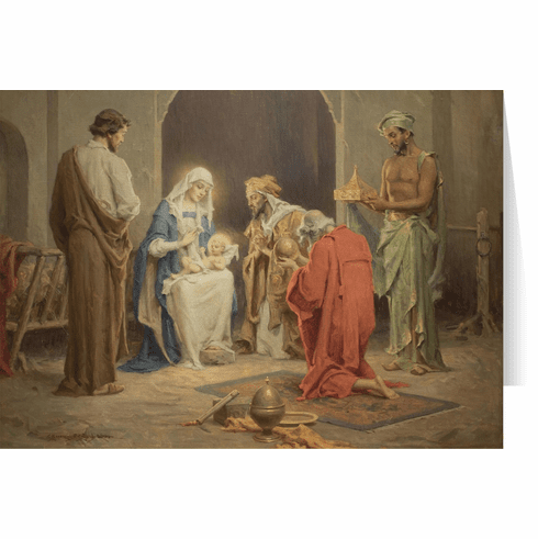 Nelson's Chambers' Nativity Christmas Cards