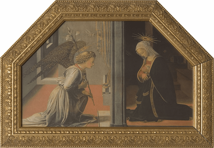Nelson's Gifts Annunciation by Lippi Wall Framed Art