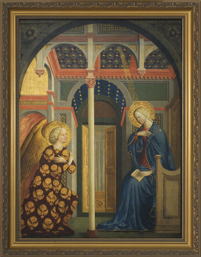 Nelson's Gifts Annunciation by Masolino Da Panicale Wall Framed Art