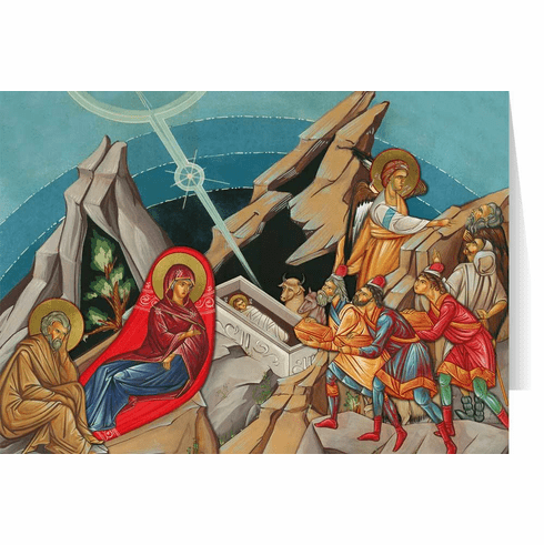 Nelson's Icon Nativity Christmas Cards
