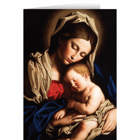 Nelson's Madonna and Her Child Christmas Cards