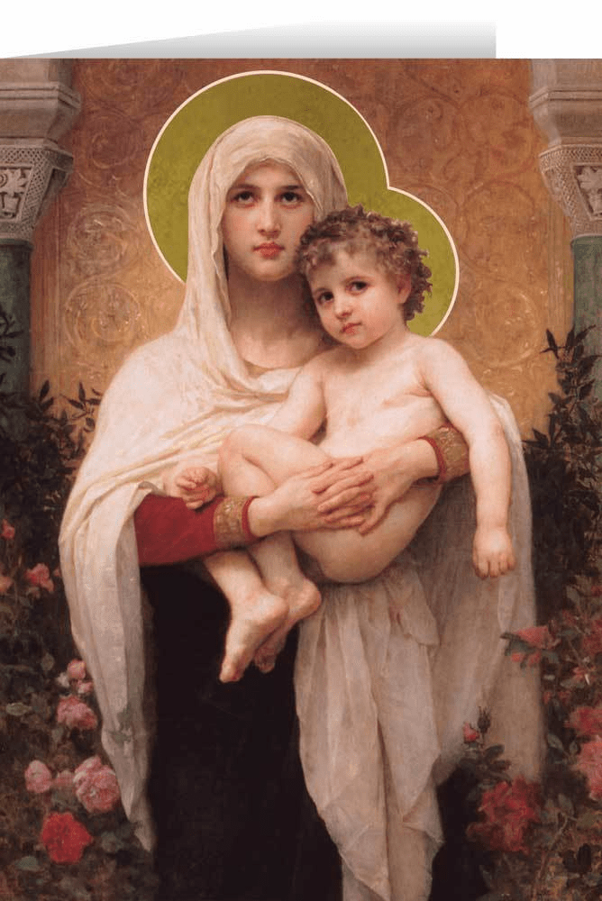 Nelson's Madonna of the Roses Christmas Cards
