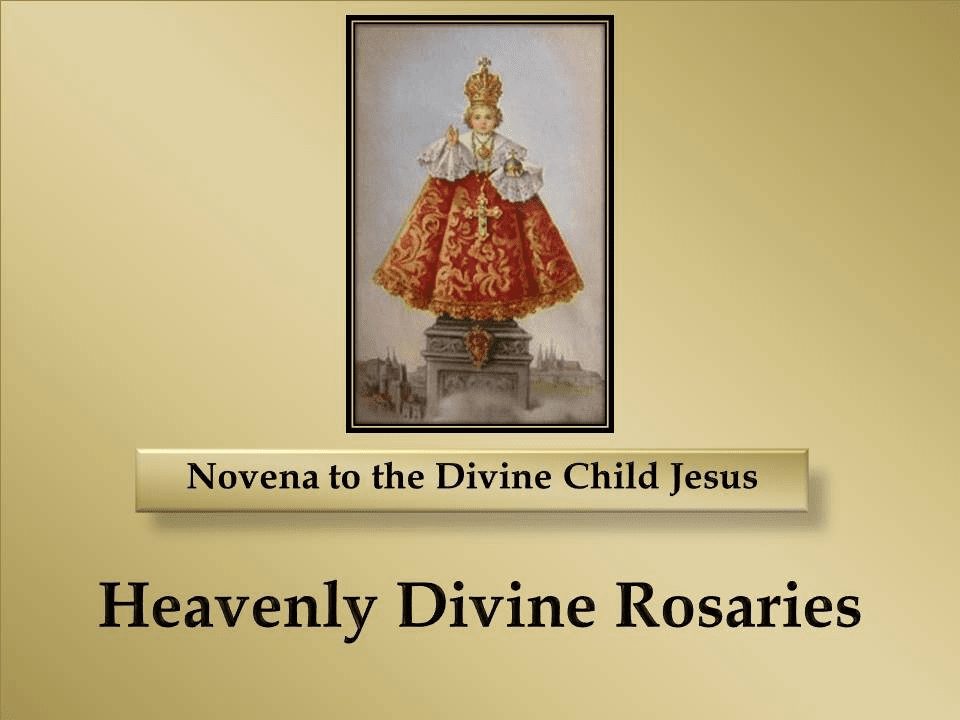 Novena to the Divine Child Jesus