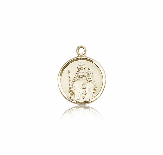 Our Lady of Consolation 14kt Gold Medal Pendant by Bliss