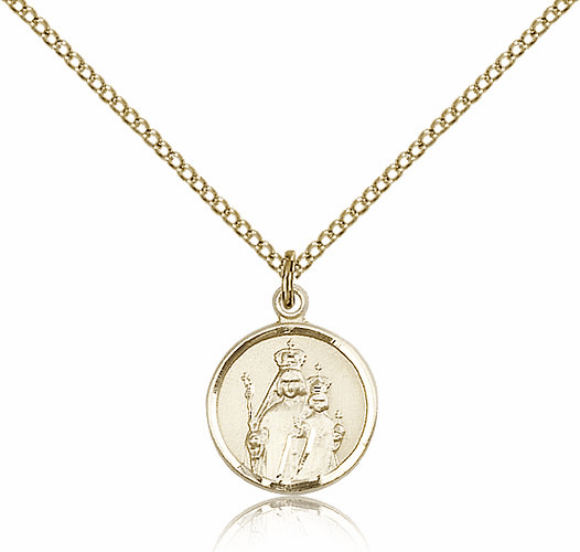 Our Lady of Consolation Gold Filled Pendant Necklace by Bliss