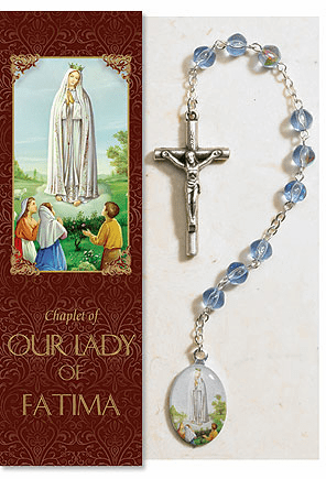 Our Lady of Fatima Catholic Prayer Chaplet Sets 3ct by Milagros