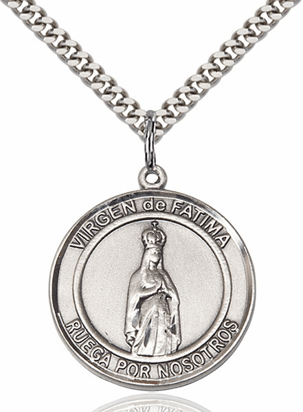 Our Lady of Fatima Medals and Necklaces