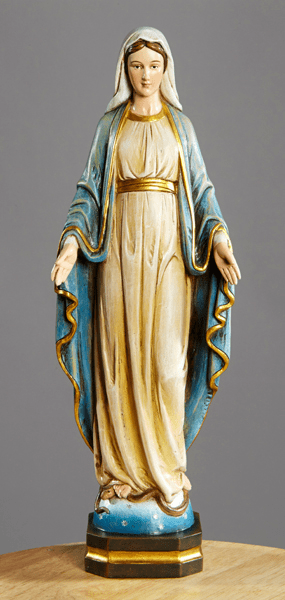 Our Lady of Grace Val Gardena Statue by Avalon Gallery