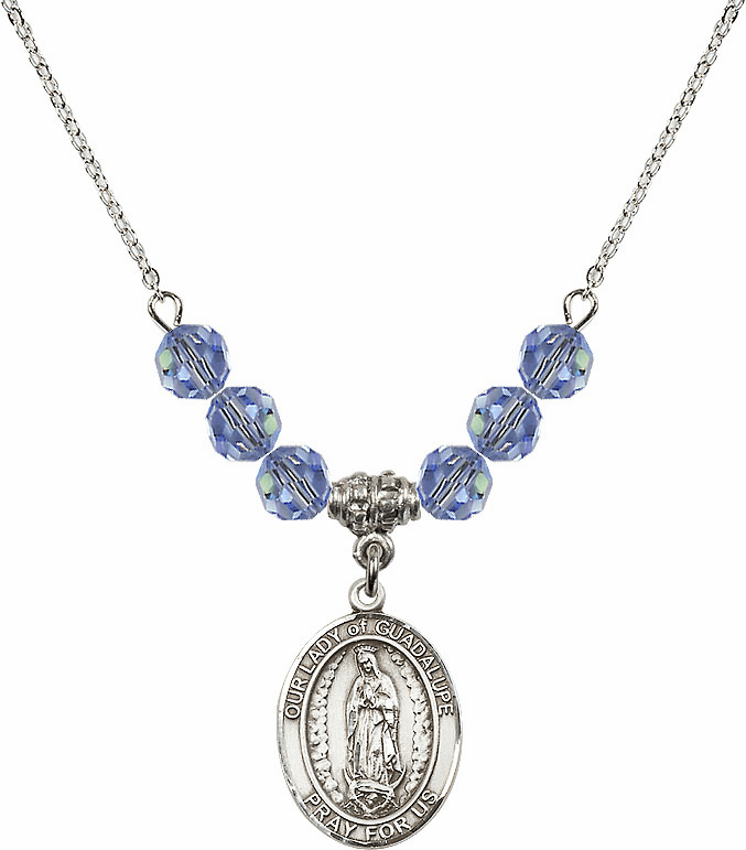Our Lady of Guadalupe Beaded Necklace Jewelry